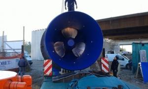 Nuova centralina idroelettrica a Sette Case di Bassano del Grappa (VI) - TURBINA MARCHESANE 2